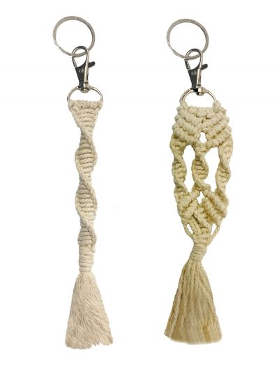 Macrame Key Chains Combos Pairs of 2