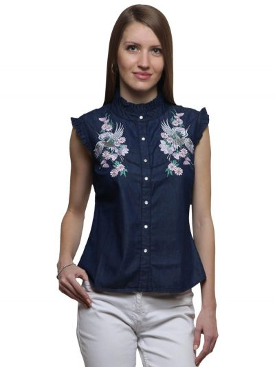 stylish casual tops online, best casual clothes for ladies, fashionable tops for ladies, top for girl party wear, designer tops online, Fosh.shopping tops, Side Stressed Sleeveless Tops, Sleeveless Tops for ladies