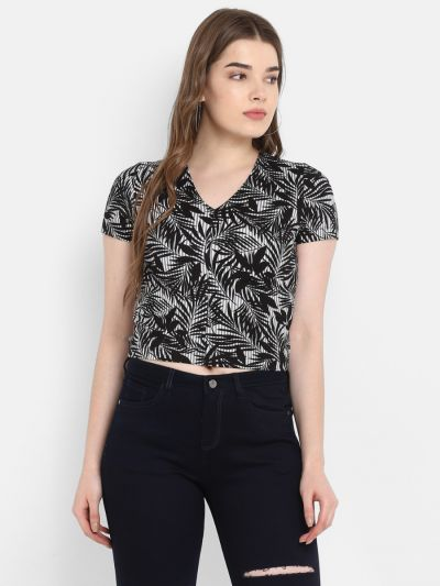 Stylish Casual Tops for Ladies Online, buy Printed Crop Top Online, Top Wear by fosh, Stylish Casual Tops for Ladies Online, buy designer Tops for Women, buy designer Tops for Women, cheap women's tops,  ladies casual tops, Buy Casual top online, stylish
