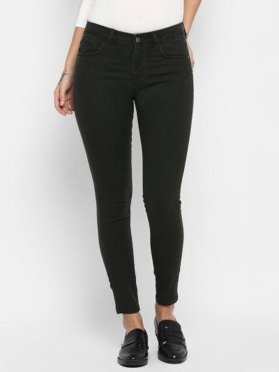 Olive Skinny Fit Jeans
