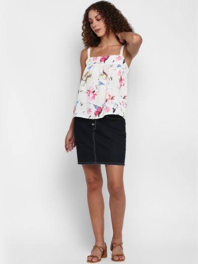 Floral Printed strappy top